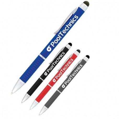 Monogrammed Iris Multi-Ink Pen-Stylus