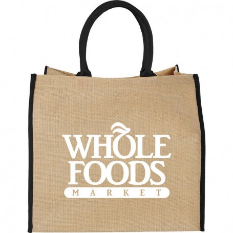 Monogrammed The Large Jute Tote