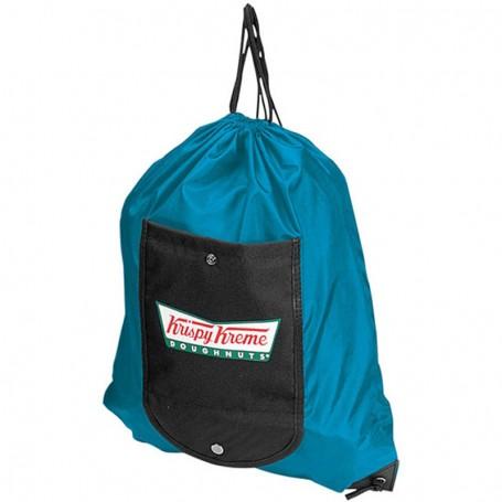 Monogrammed Wallet Backpack