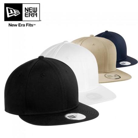 New Era® Flat Bill Adjustable Cap