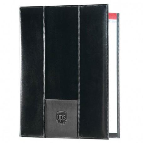 9.25 x 12.25 Newport Custom Padfolio-open-front