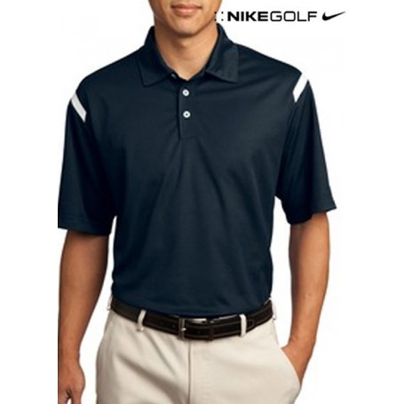 Nike Golf Dri-FIT Shoulder Stripe Polo
