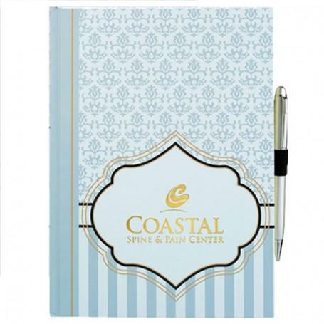 Printable Wainscot Large Bound JournalBook