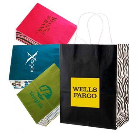 Imprinted White Tints and Shopping Bags