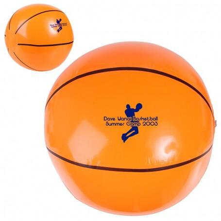 """Personalized-14""""-Basketball-Beach-Ball"""