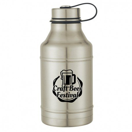 Personalized 64 Oz. Stainless Steel Wide-Mouth Growler