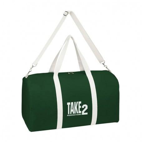 Personalized Biggie Cotton Duffel Bag