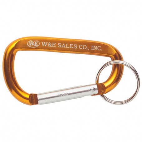 Personalized Carabiners with Keyring