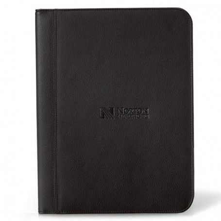Personalized Cityscape Leather Writing Pad