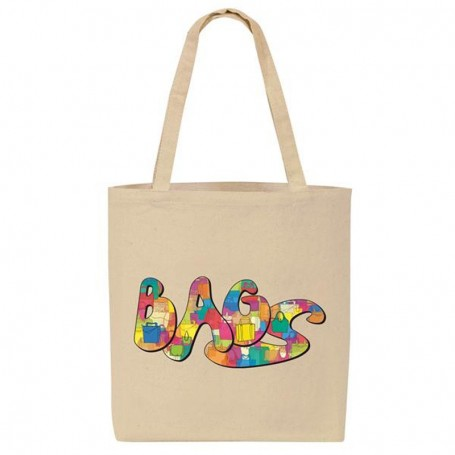 """Personalized """"eGREEN"""" Promotional Canvas Tote II"""