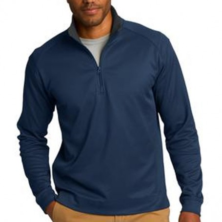 Port Authority Heavyweight Vertical Texture Pullover