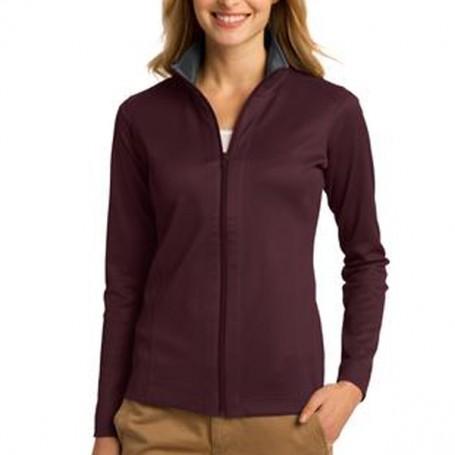 Port Authority Ladies Heavyweight Vertical Texture Jacket