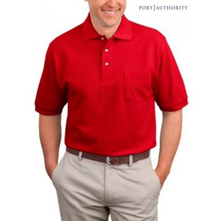 Port Authority Pique Sport Shirt with Pocket