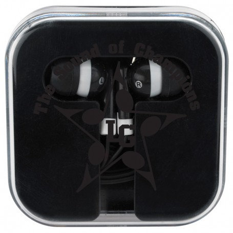 Printable Ear Buds In Compact Case
