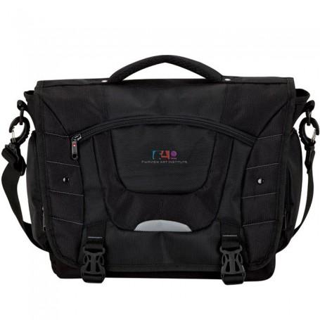 Monogrammed Executive Messenger Bag
