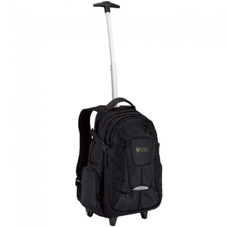 Printed Executive Rolling Backpack