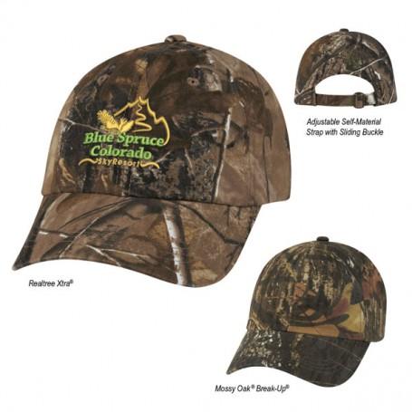 Printed Hunter's Hideaway Camouflage Cap