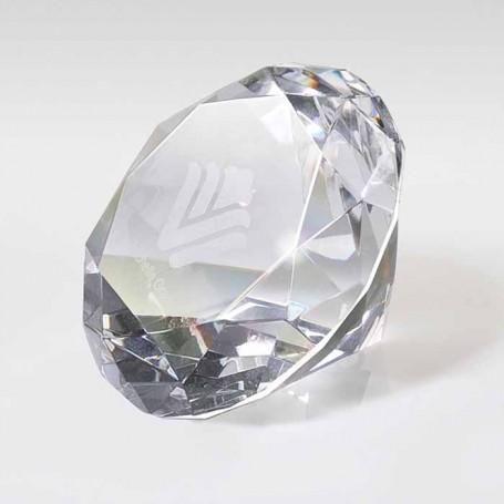 Printed Large Diamond