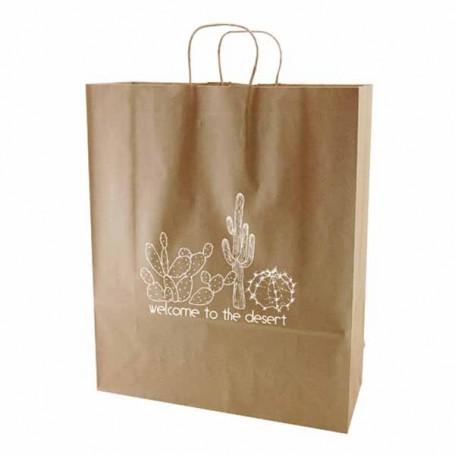 Printed-Natural-Kraft-shopping-bags