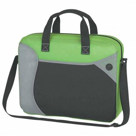 Printed Wave Briefcase/Messenger Bag