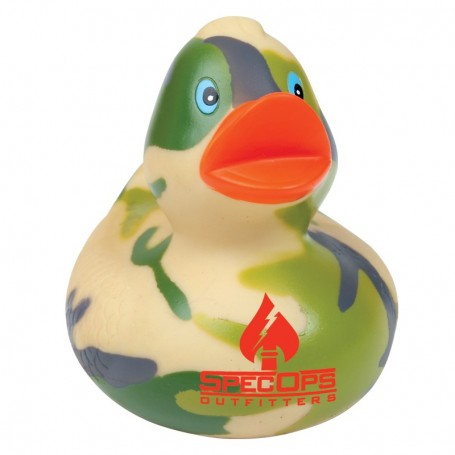 Promo Camouflage Rubber Duck