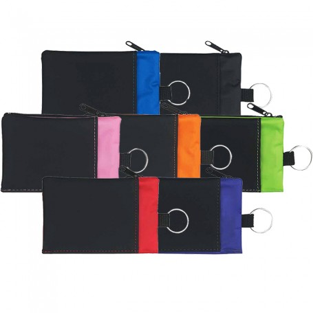 Promo Folding Wallet With Key Ring