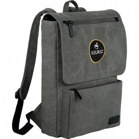 Promo Kenneth Cole Canvas Compu-Backpack