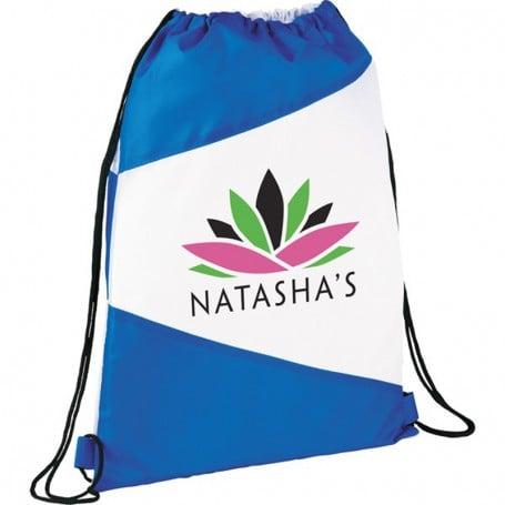 Promo Pennant Drawstring Cinch Backpack