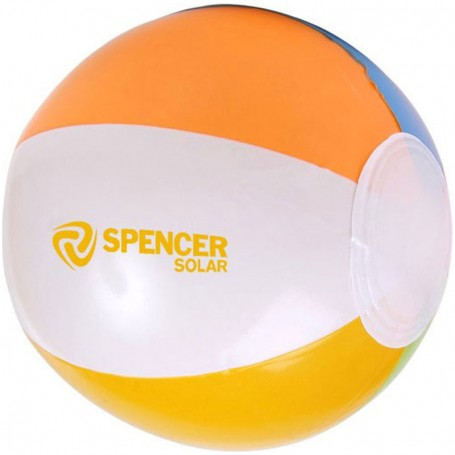 "Promotional 16"" Multi Colored Beach Ball"