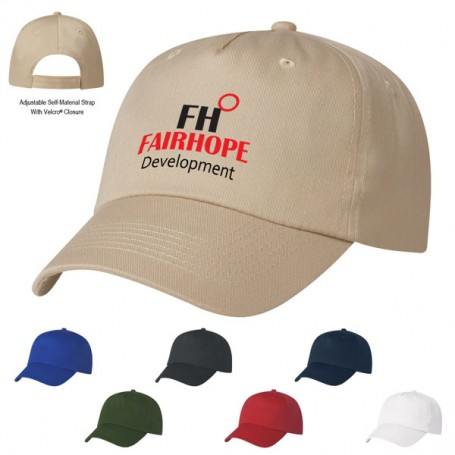 Promotional 5 Panel Polyester Cap
