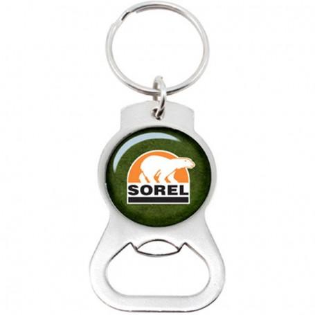 Promotional Bottle Opener Metal Keychain