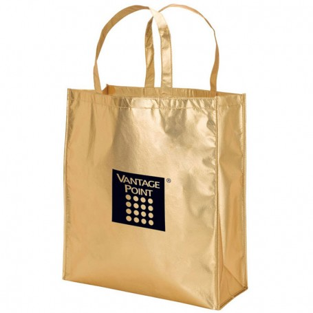 Promotional Metallic Tote Bag