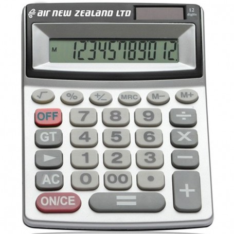 Promotional Printed Dual Solar Power Calculator