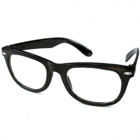 Promotional Wayfarer Sunglasses with Clear Lens