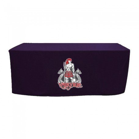 Full Color 4' Fitted Style Table Cover