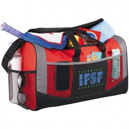 Printable Iron Man Duffel Bag - red