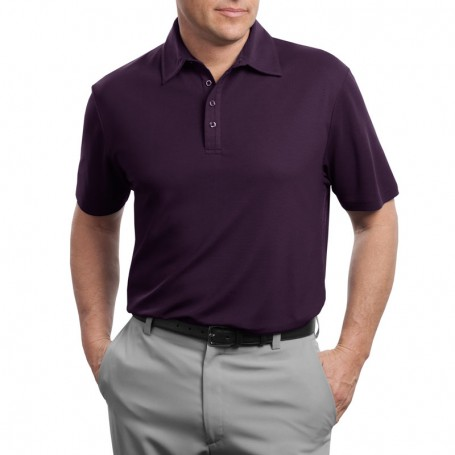 Red House - Contrast Stitch Performance Pique Polo