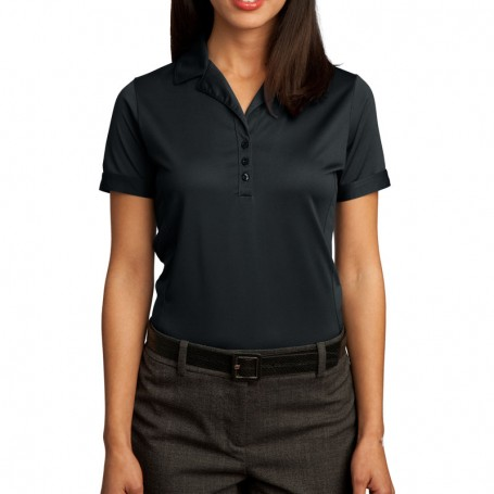Red House - Ladies Contrast Stitch Performance Pique Polo