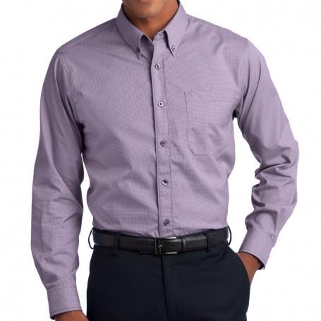 Red House - Mini-Check Non-Iron Button-Down Shirt (Apparel)