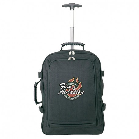 Rolling Cargo Laptop Backpack