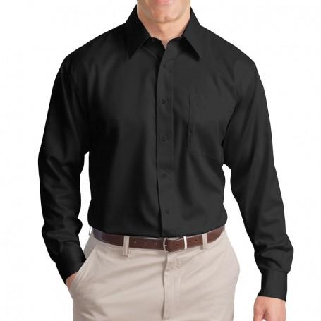 Port Authority Long Sleeve Non-Iron Twill Shirt (Apparel)