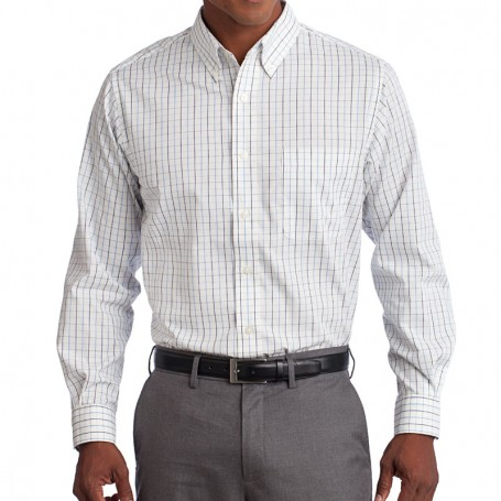 Port Authority Tattersall Easy Care Shirt (Apparel)
