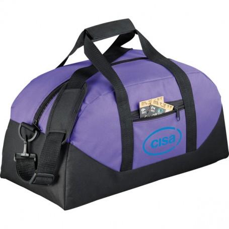 Customizable Stadium Duffel Bag - purple