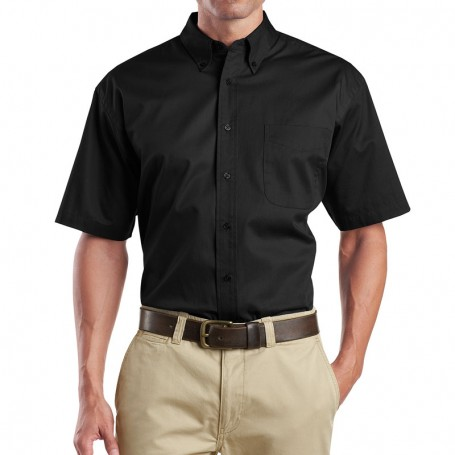 CornerStone - Short Sleeve SuperPro Twill Shirt (Apparel)