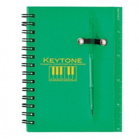 Custom Spiral Notebook and Pen
