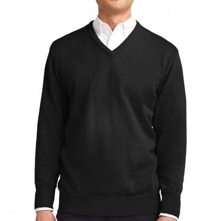Port Authority Value V-Neck Sweater (Apparel)