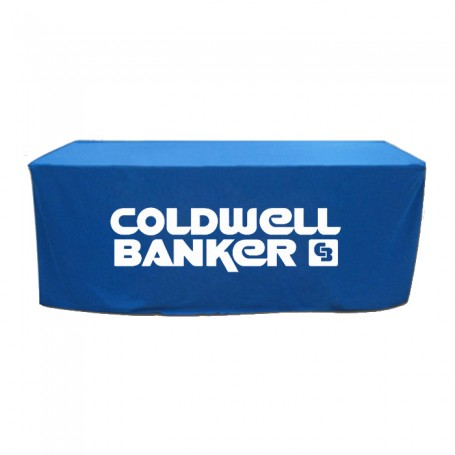 Logo 8' Fitted Table Covers