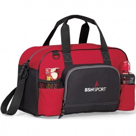 Printed Apex Sport Bag - red