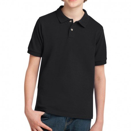 Port Authority Youth Pique Knit Polo