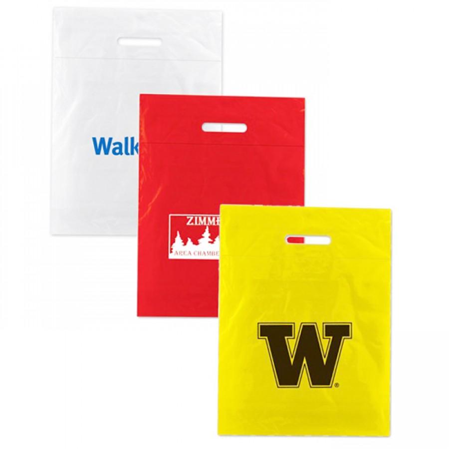 Printable Low Density Fold Over Die Cut Bags